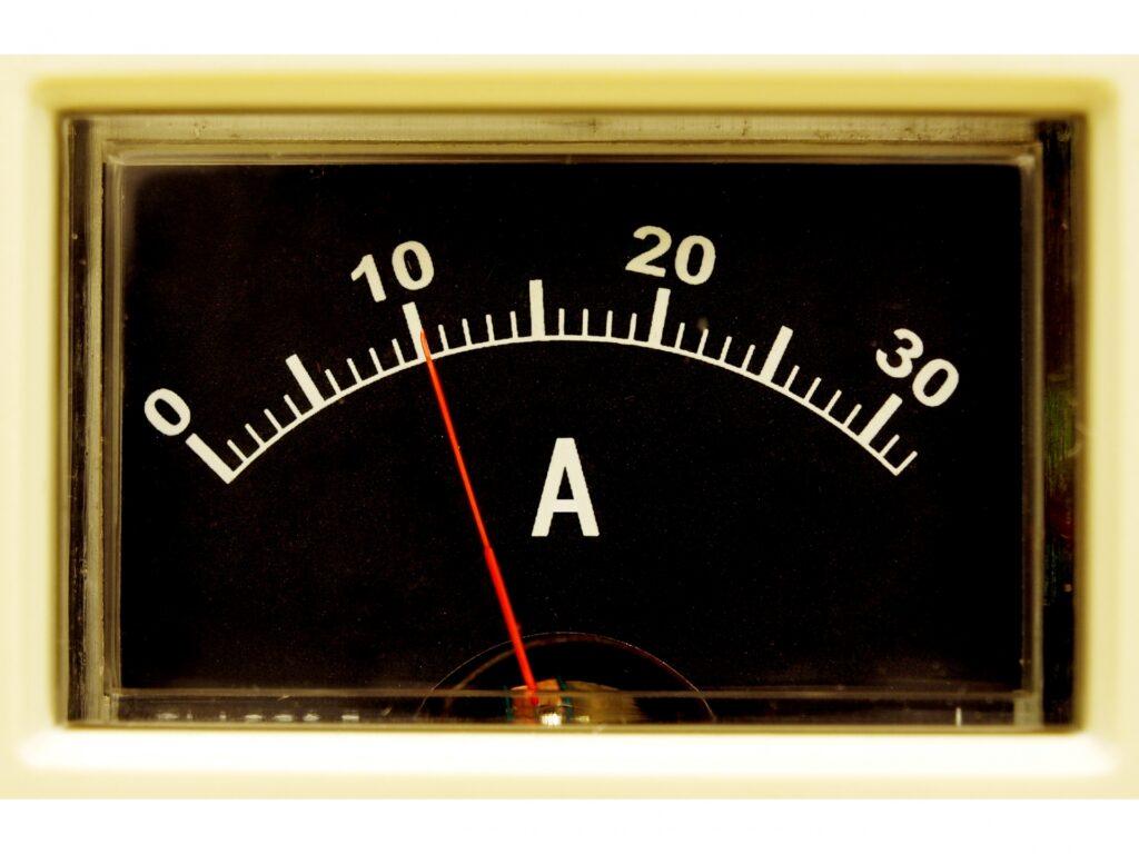 EMSは電流出力が上がると効果が高くなる